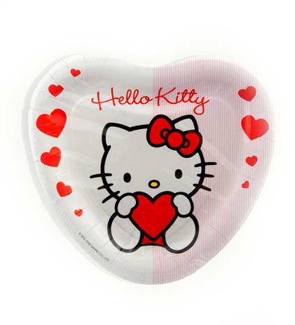 Tallrikar Hello Kitty, 8st