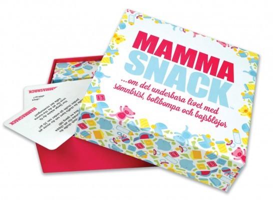 Mamma Snack - Ett spel om livet som mamma • Pryloteket