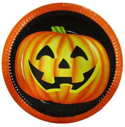 Halloweentallrikar, 8st • Pryloteket