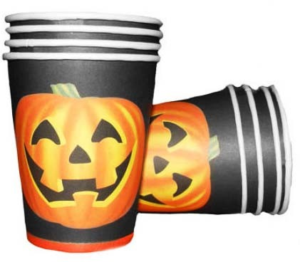 Halloweenmuggar, 8st • Pryloteket
