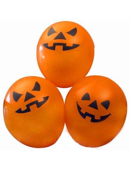 Halloweenballonger, 6st • Pryloteket