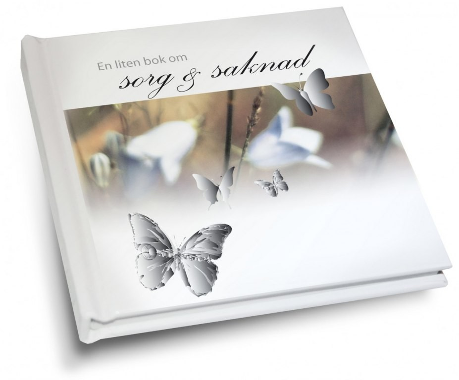 En liten bok om sorg & saknad - Presentbok • Pryloteket