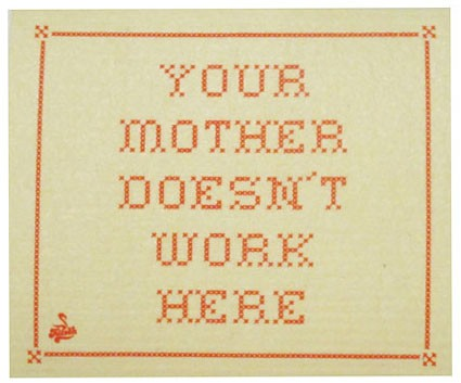 "Disktrasa """"Your mother doesn't work here"""""