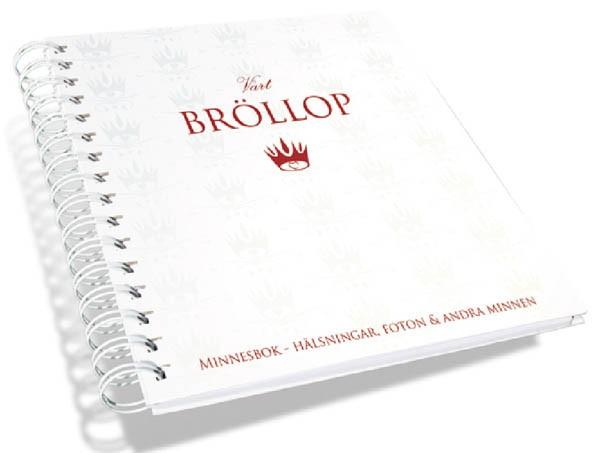Vårt Bröllop Minnesbok (Gästbok) • Pryloteket
