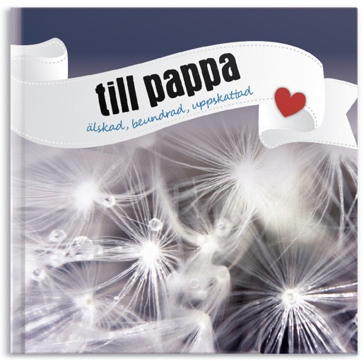 Till pappa - älskad, beundrad, uppskattad (Presentbok) • Pryloteket