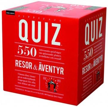Jippijaja Quiz - Resor & Äventyr • Pryloteket
