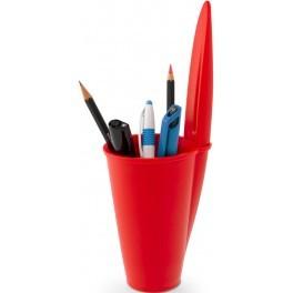 Pennställ BIC-kork, röd