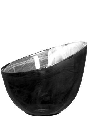 Candy Skål, svart - SEA Glasbruk