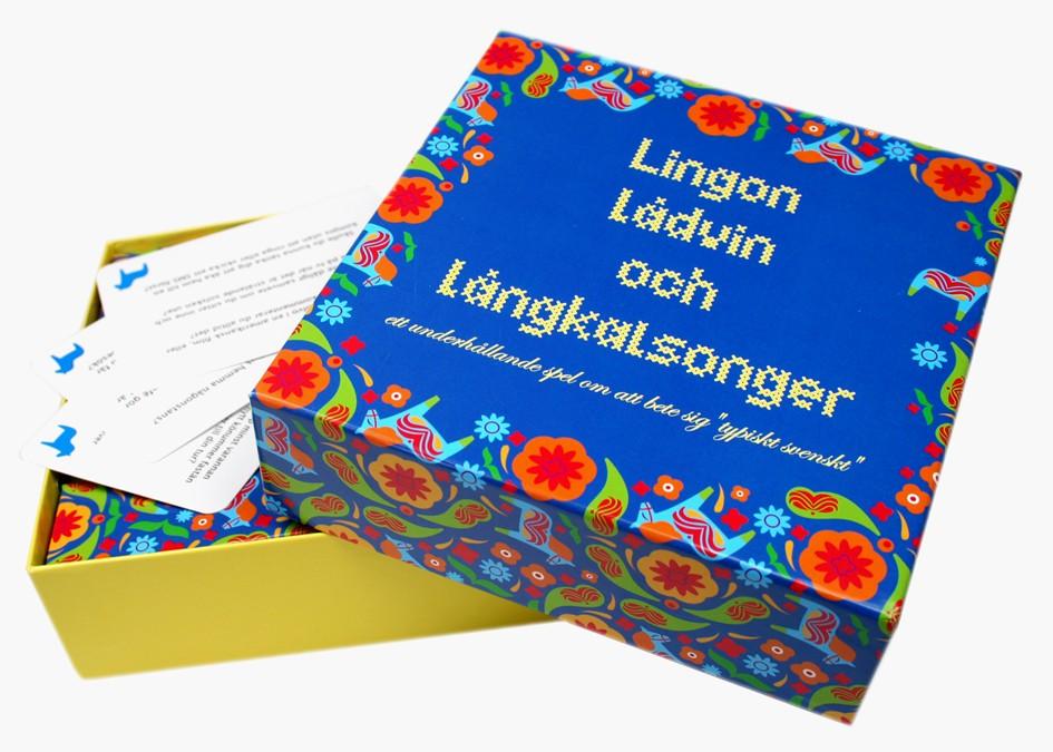 Spel Lingon, Lådvin och Långkalsonger • Pryloteket