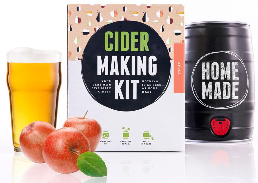 Ciderbryggningskit, 5 liter - Brewbarrel (Äpple) • Pryloteket