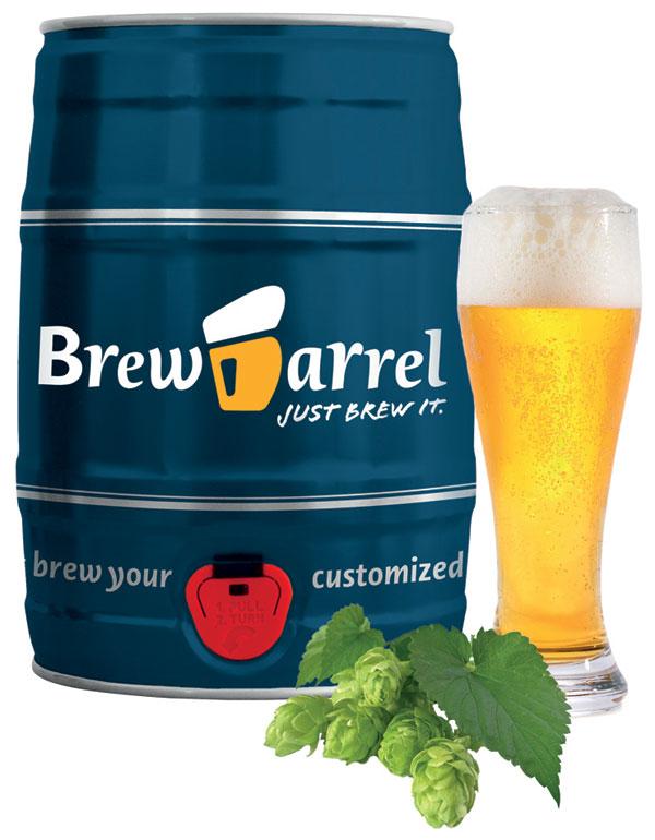 Ölbryggningskit, 5 liter - Brewbarrel (Pale Ale)