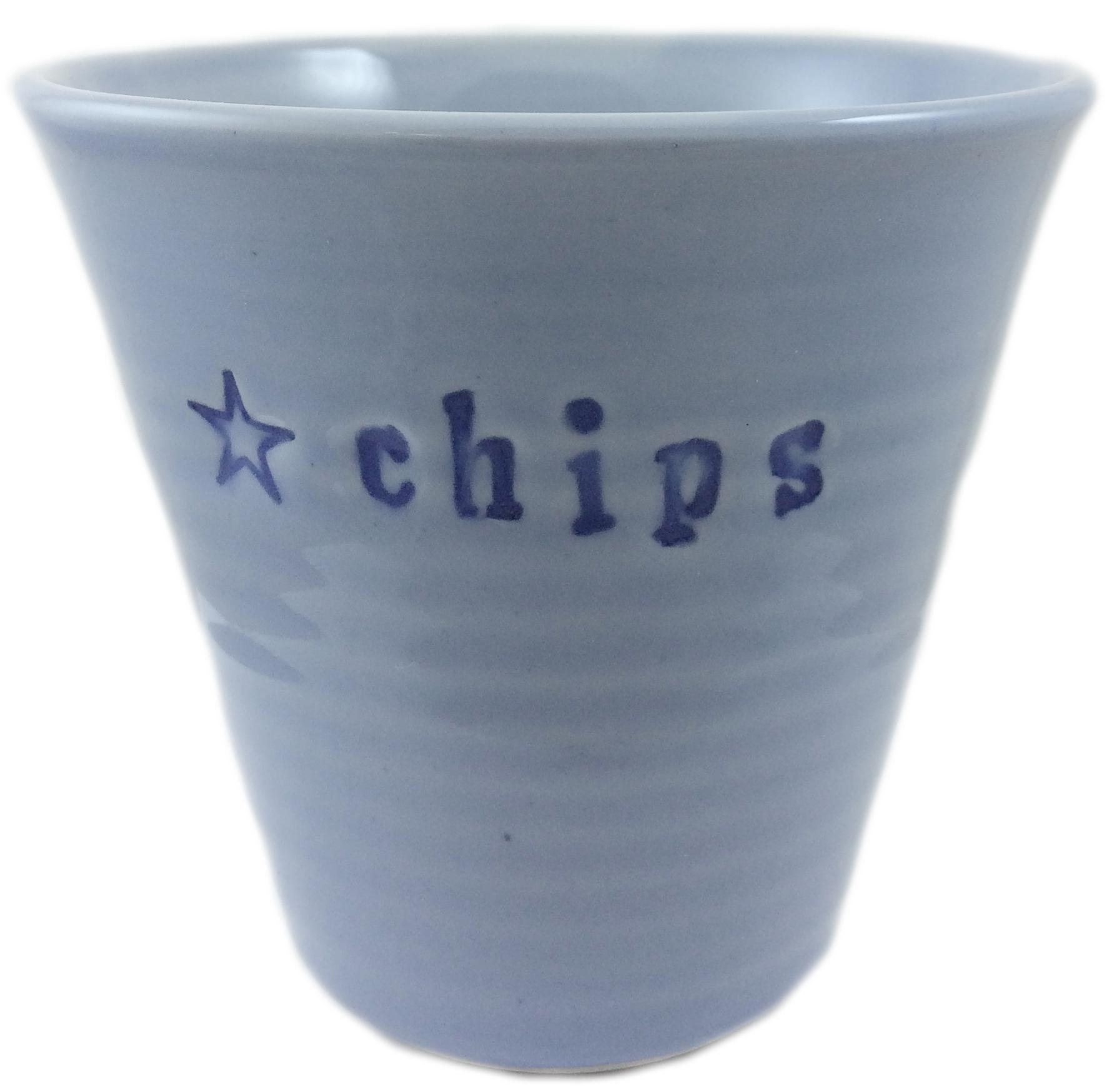 Skål Chips (utgående modell), blå - Puss Puss Company • Pryloteket