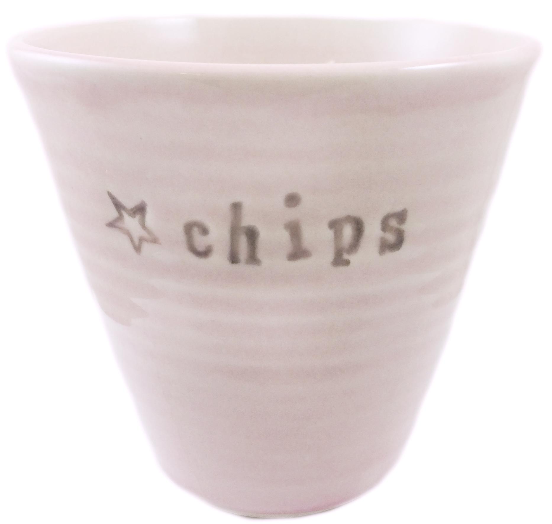 Skål Chips (utgående modell), rosa - Puss Puss Company • Pryloteket