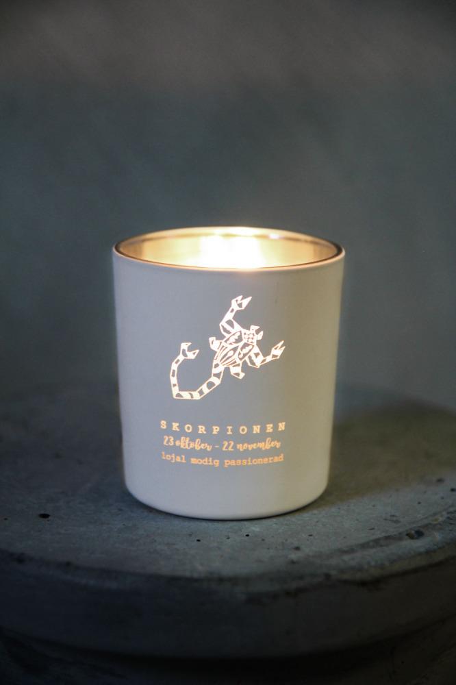 Ljuslyktor Stjärntecken - Majas lyktor/Barncancerfonden (Skorpionen)