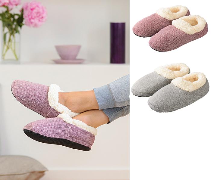Slippies Comfort - Microtofflan (Grå) • Pryloteket