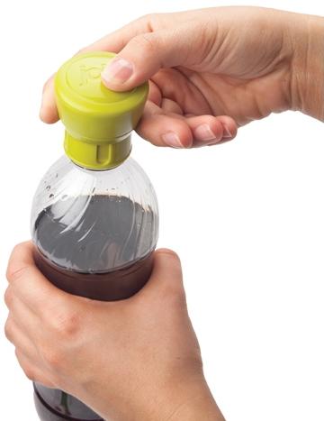 Soda Saver - Kolsyrebevarande kork (Limegrön) • Pryloteket