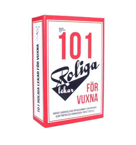 Box 101 roliga lekar för vuxna