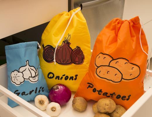 Stay Fresh Grönsakspåse (Potatis) • Pryloteket