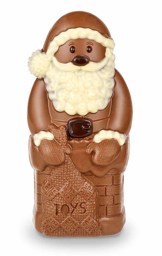 Stor Chokladtomte från Thorntons (250g) • Pryloteket