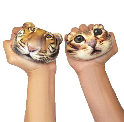 Stressbollar Djur (Tiger)