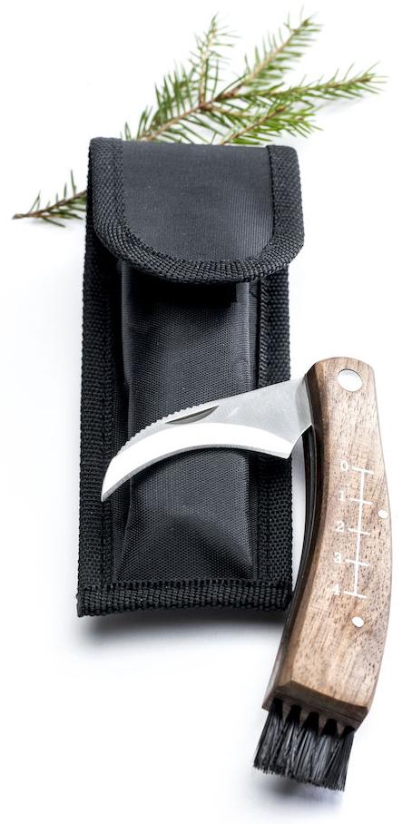 Svampkniv i fodral - Sagaform • Pryloteket