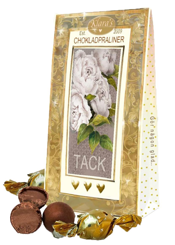 Tack - Lyxiga chokladpraliner • Pryloteket