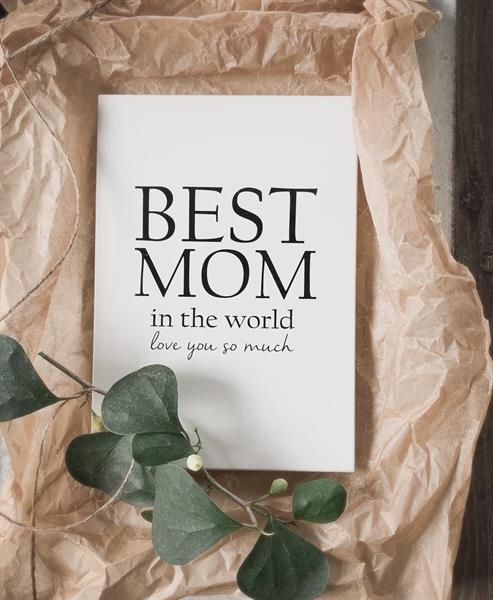 """Tavla """"Best Mom"""" • Pryloteket"""