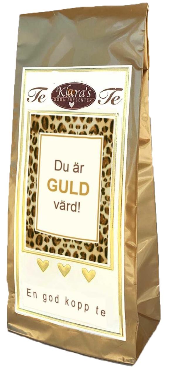 """Te """"Du är guld värd"""" • Pryloteket"""