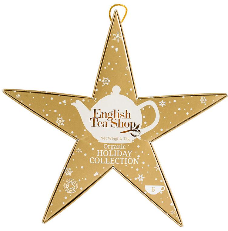 Ekolgiskt julte i stjärnförpackning - English Tea Shop • Pryloteket