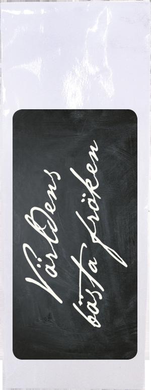 """Te """"Världens bästa fröken"""" (svart/vit förpackning) • Pryloteket"""