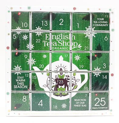 *FÖRBOKNING* Te-Adventskalender (ekologisk), Grön - English Tea Shop • Pryloteket