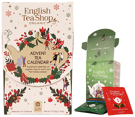 Te-Adventskalender Ask (Ekologisk.) - English Tea Shop