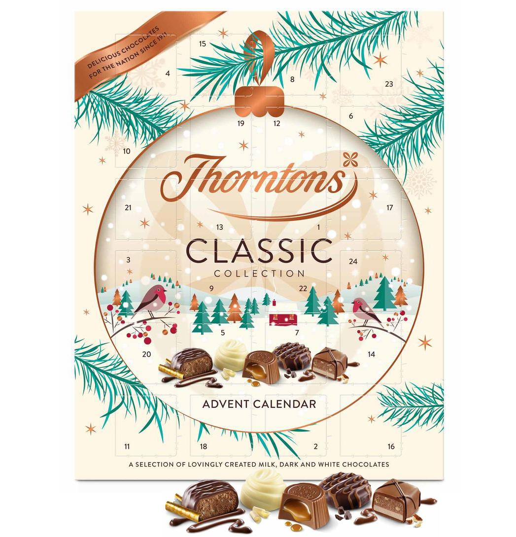Chokladkalender från Thorntons