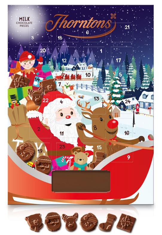 Chokladkalender från Thorntons • Pryloteket