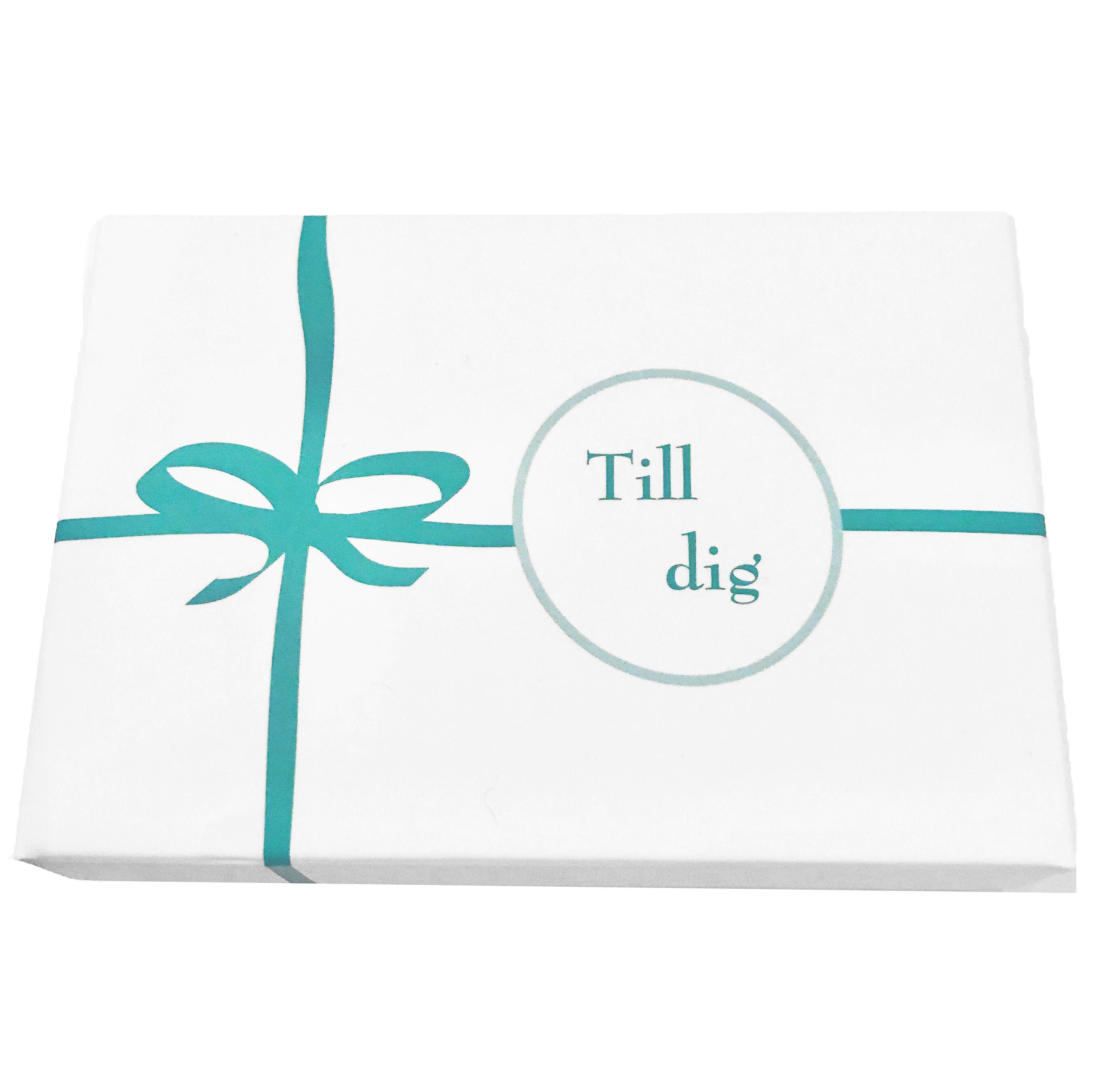Till Dig - Presentask för att visa uppskattning • Pryloteket