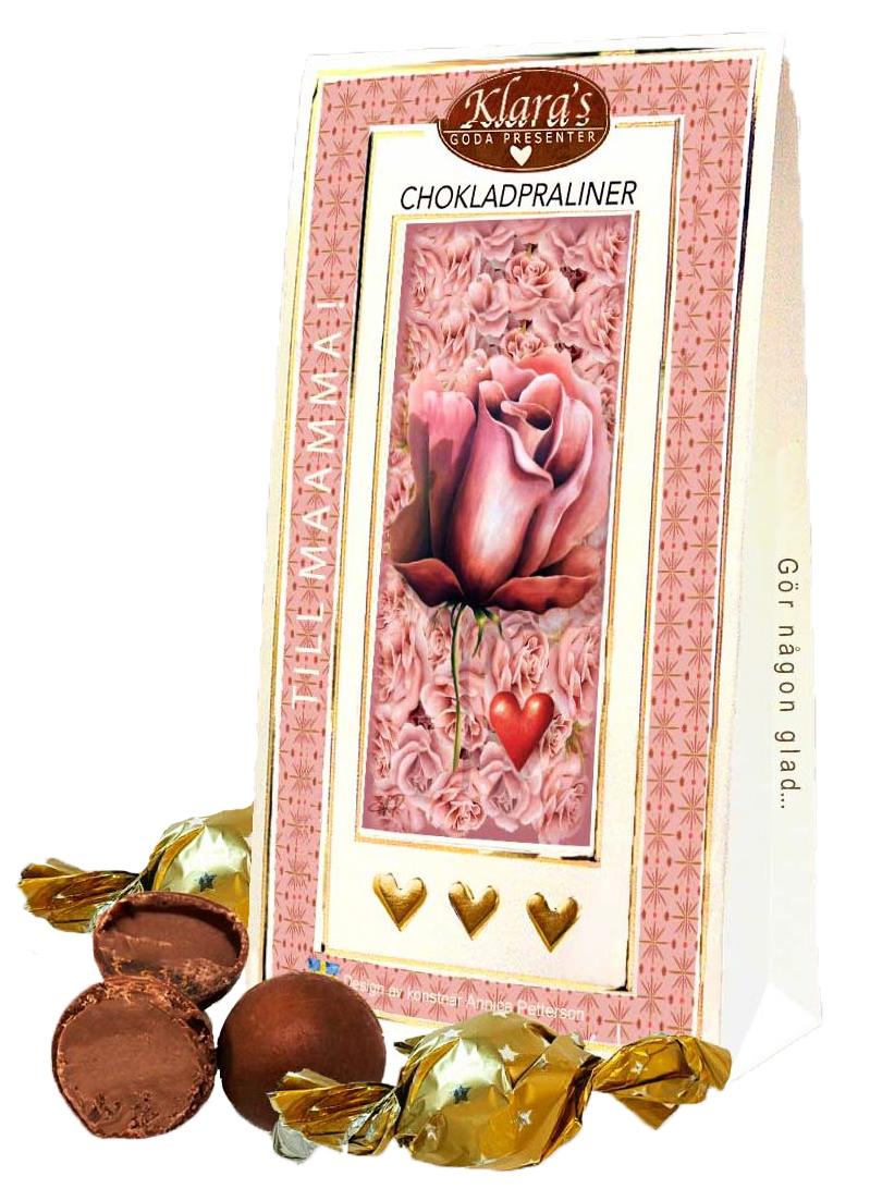 Till Mamma - Lyxiga chokladpraliner • Pryloteket