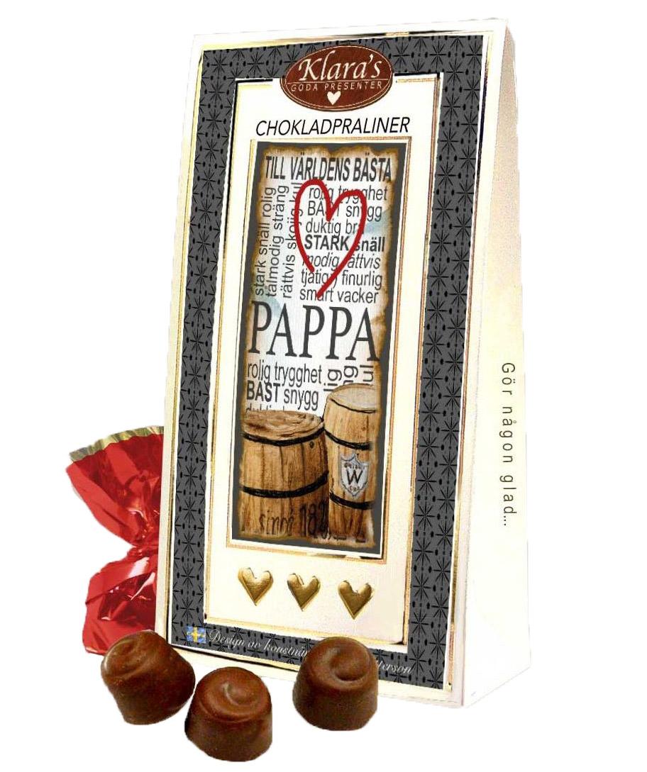Till Pappa - Lyxiga chokladpraliner • Pryloteket