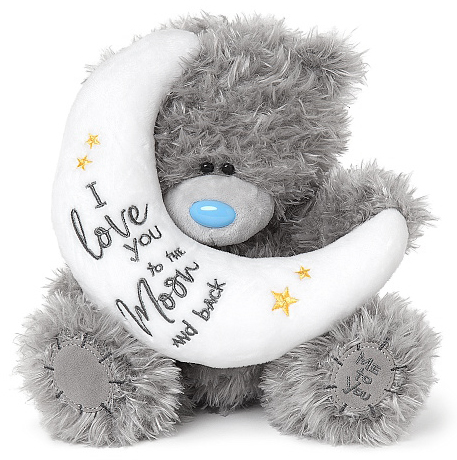 """Nalle """"Love you to the moon..."""", 20cm - Me to you • Pryloteket"""