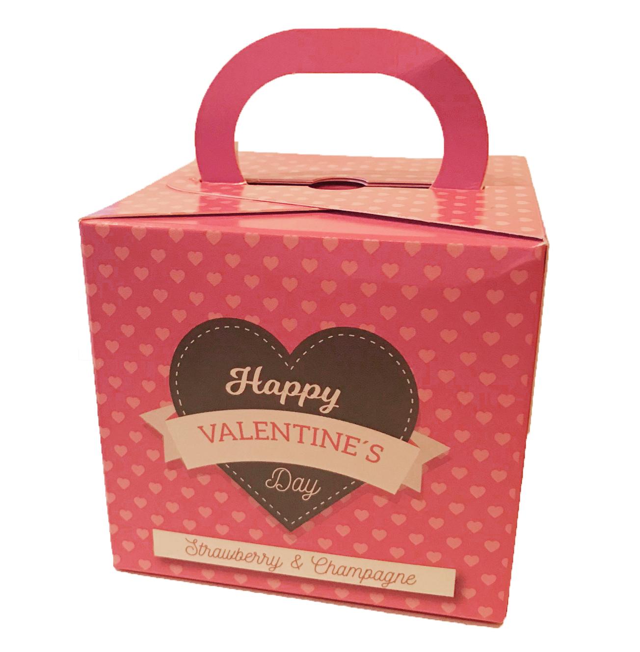 Happy Valentine Fudge - Jordgubb/Champagne • Pryloteket