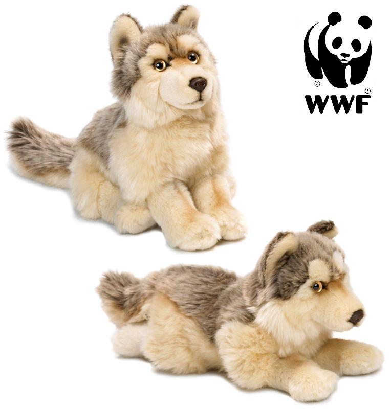 Varg - WWF (Världsnaturfonden) (Sittande)