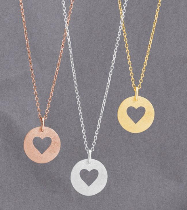 Halsband Valentine - Nordahl Jewellery (Silver)