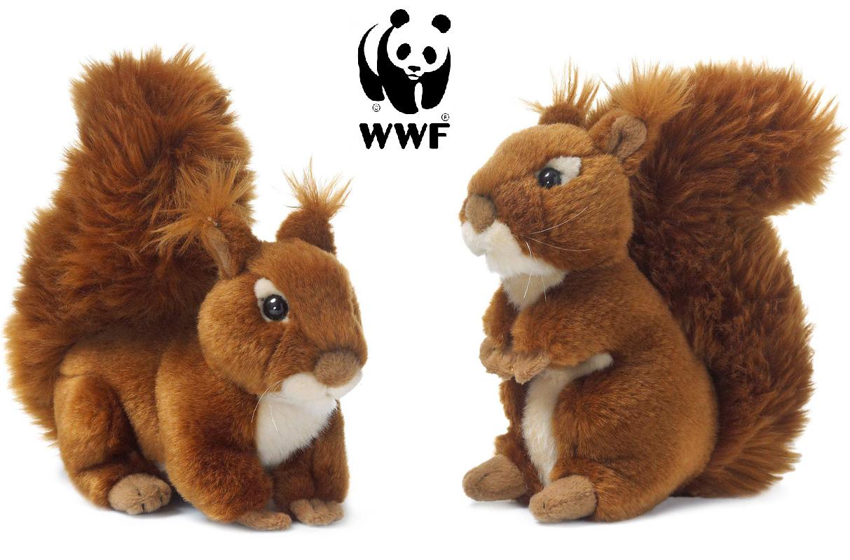 Ekorre - WWF (Världsnaturfonden) (Sittande) • Pryloteket