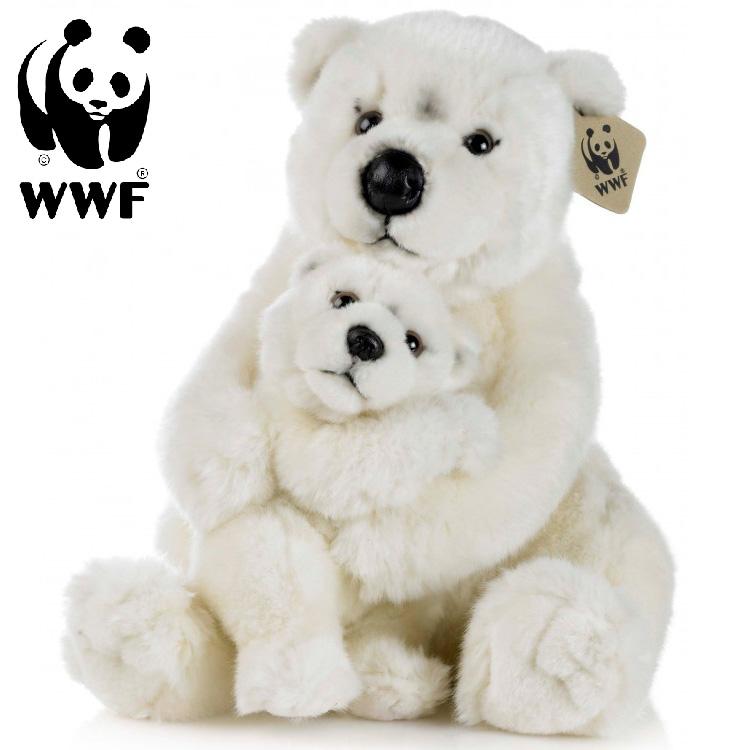 Isbjörn med baby - WWF (Världsnaturfonden) • Pryloteket