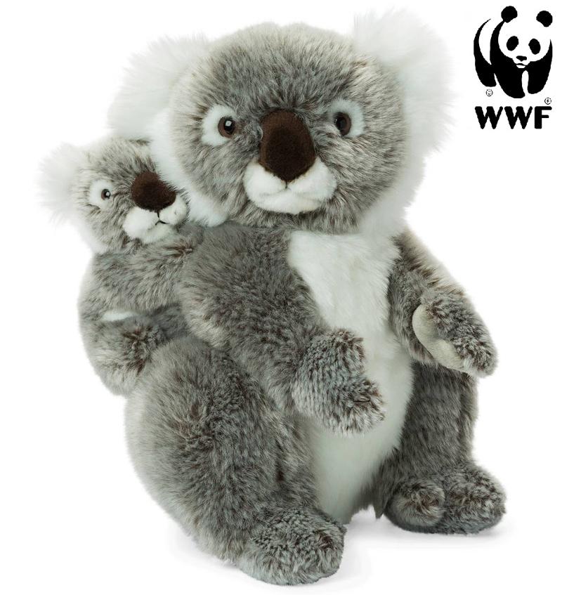 Koala med baby - WWF (Världsnaturfonden) • Pryloteket