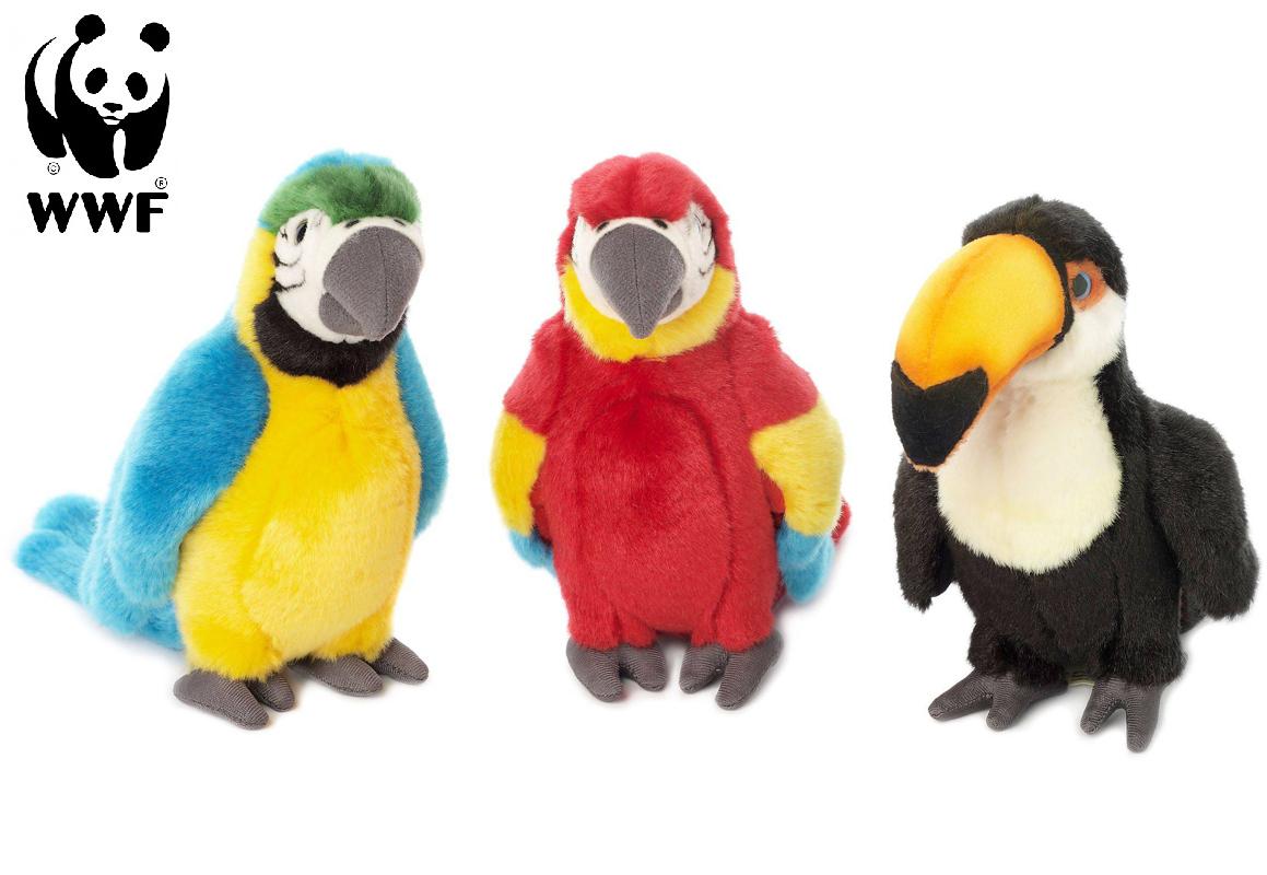Tropiska Fåglar - WWF (Världsnaturfonden) (Tucan) • Pryloteket